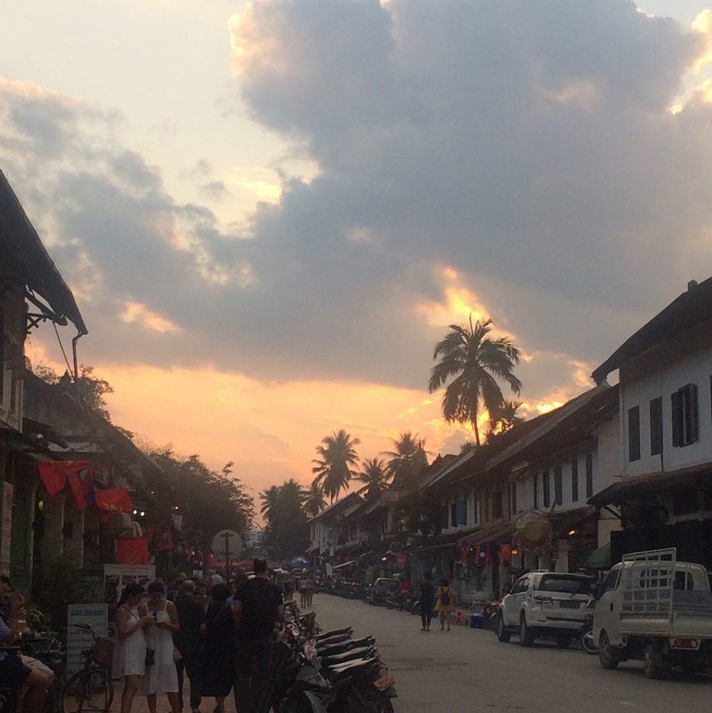 A solo walk in Luang Prabang, Laos