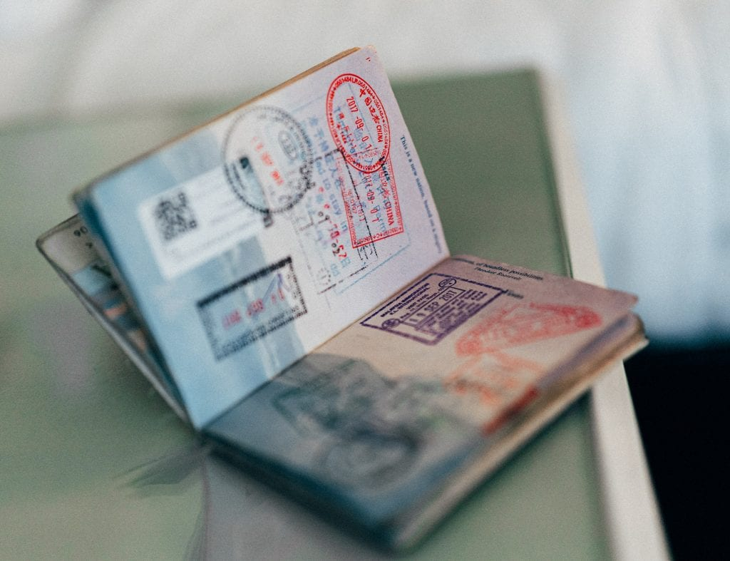 Check you have enough space in your passport and at least 6 months left before it expires