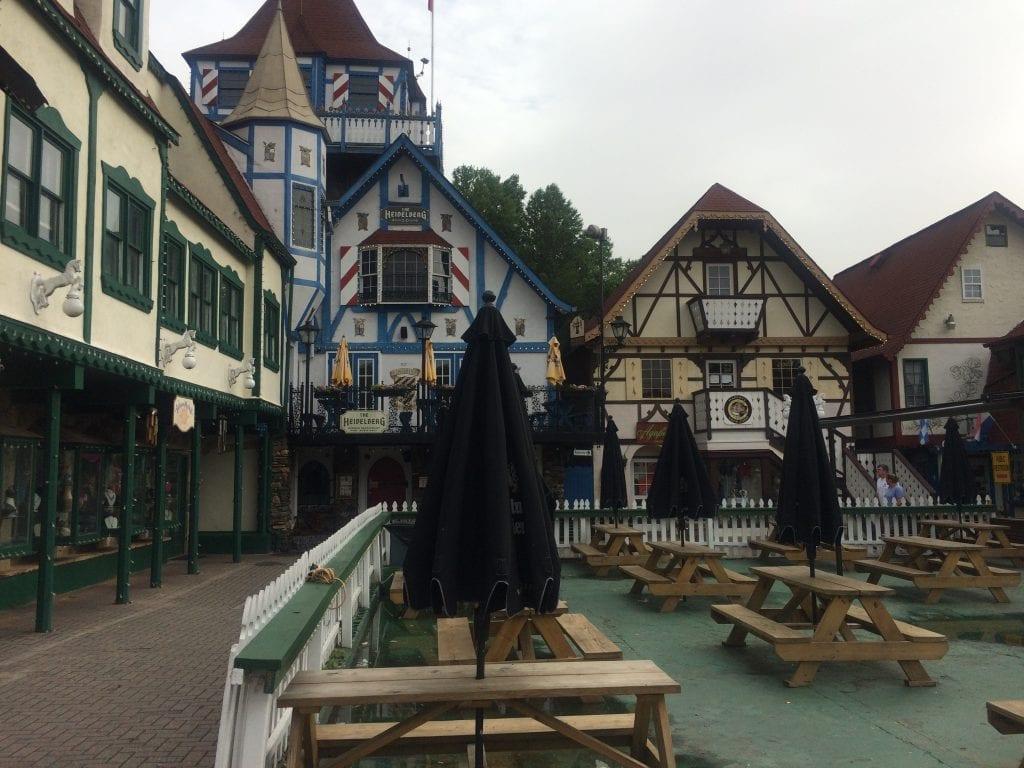 German-style architecture in Helen, Georgia