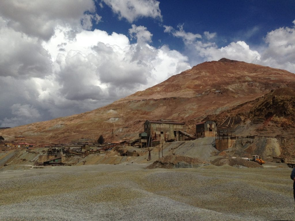 Working silver mines in Potosí, Bolivia. A tough one, but still one of my top travel experiences for showing me how some people work to survive.