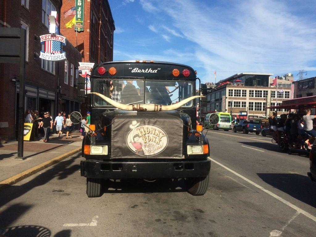 Party bus in Nashville