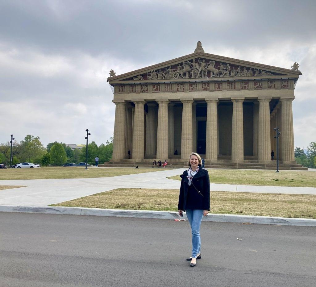 Full replica of the Parthenon in Nashville
